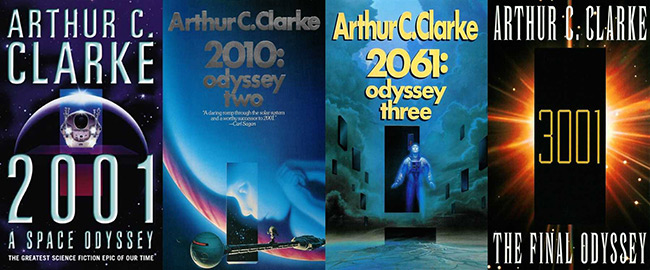 Book Review: The Odyssey Series: 2001, 2010, 2061, and 3001