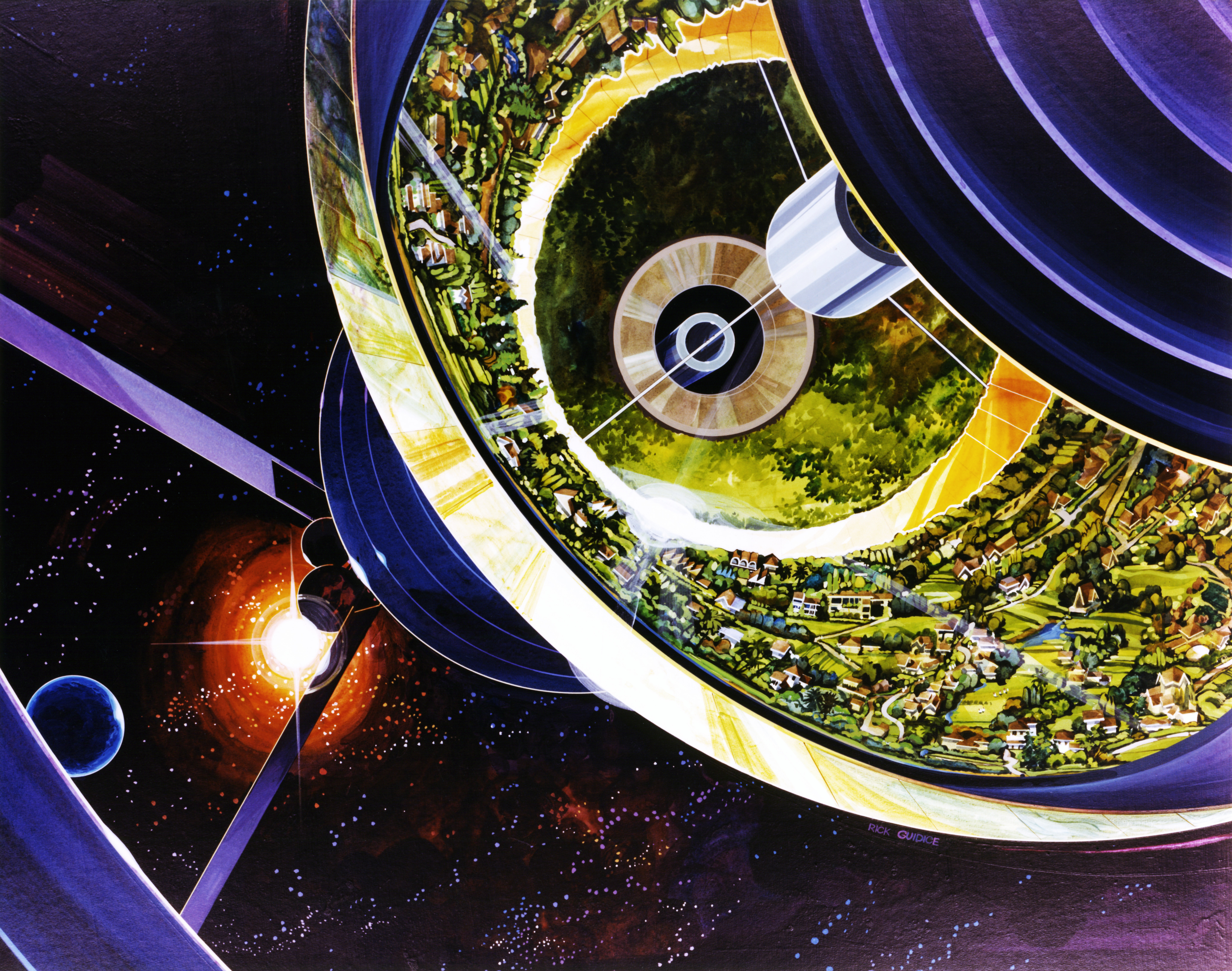 National City Mile Of Cars >> Bernal Sphere|National Space Society