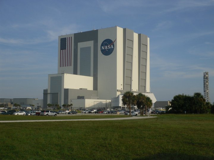 The VAB - Vehicle Assembly Building
