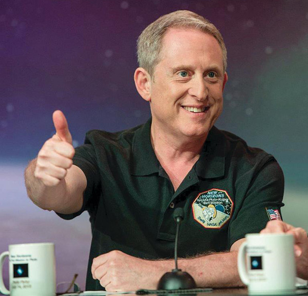Portrait of Dr. Alan Stern, associate vice president of the Space Science and Engineering Division at Southwest Research Institute (SwRI) and the Principal Investigator of NASA's New Horizons mission to Pluto. Image courtesy NASA/Bill Ingalls.