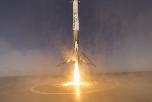 Falcon 9 Iridium landing