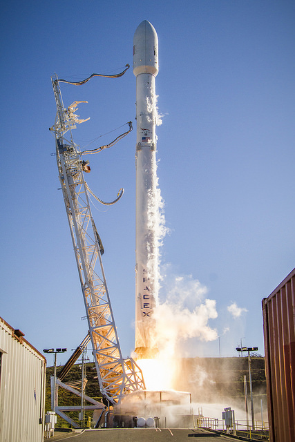 Falcon 9 Iridium liftoff