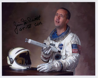 Astronaut Jim McDivitt