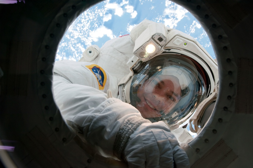 St. Louis astronaut Bob Behnken returns from one of his many spacewalks.
