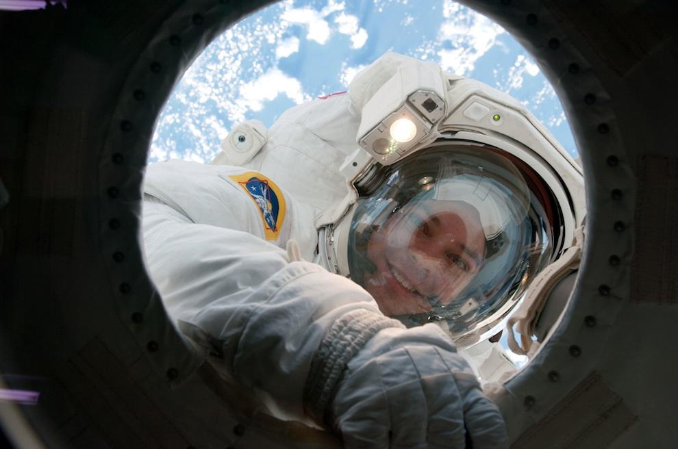 St. Louis astronaut Bob Behnken returns from one of his many spacewalks.
