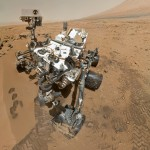 The Mars Curiosity Rover takes a self-portrait from Mars.
