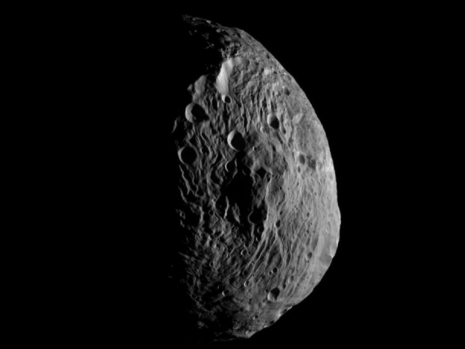 Vesta Craters