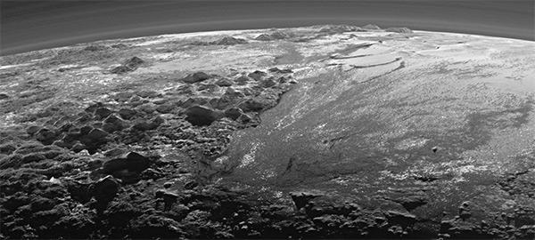 Pluto senset