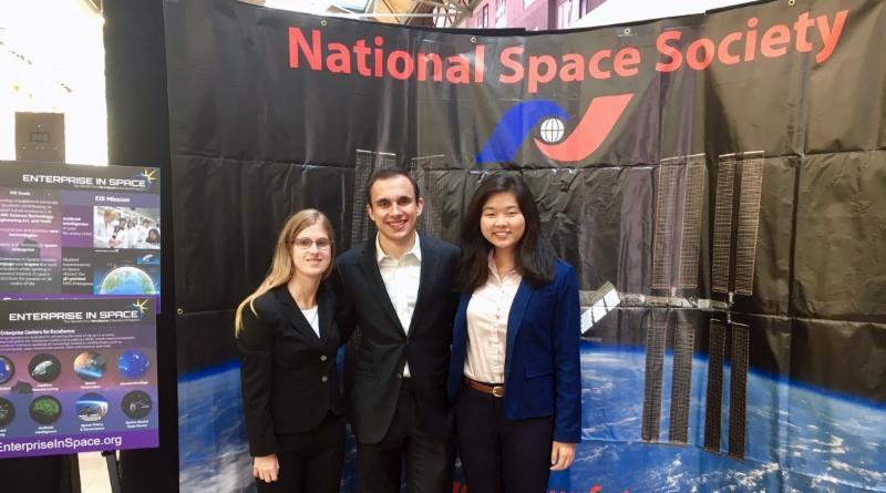 Team ProtoFluidics (L-R): Jaimie Carlson, Adam Zachar and Laura Gao