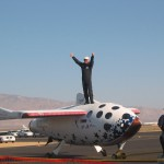 First commercial astronaut Mike Melvill after piloting his spaceplane to X-Prize victory.