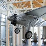 Missouri History Museum's Spirit of St. Louis replica, used in the movie.