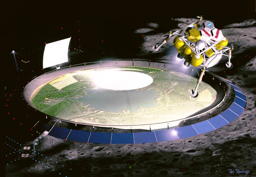 1994 lunar base studies Lunar colony