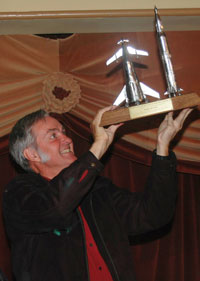 Burt Rutan receives nss award