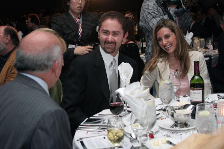 2006 ISDC Amir Ansari Prodea Inc. Nadjy Rafaty at the Orbit Awards Dinner