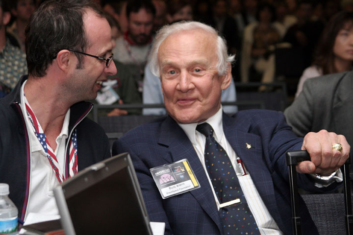 2006 ISDC Apollo astronaut Buzz Aldrin