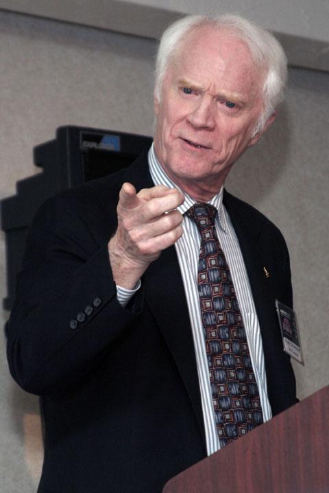 Apollo Astronaut Rusty Schweickart Presentation at 2006 International Space Development Conference