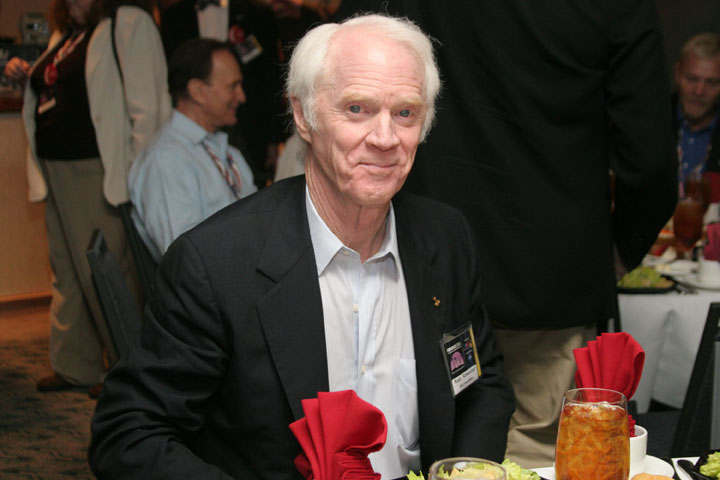 Apollo Astronaut Rusty Schweickart at 2006 International Space Development Conference