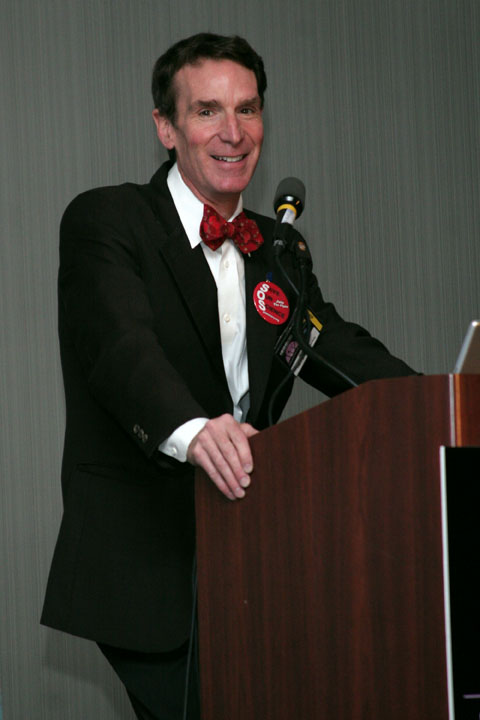 Bill Nye the Science Guy lecture at 2006 International Space Development Conference