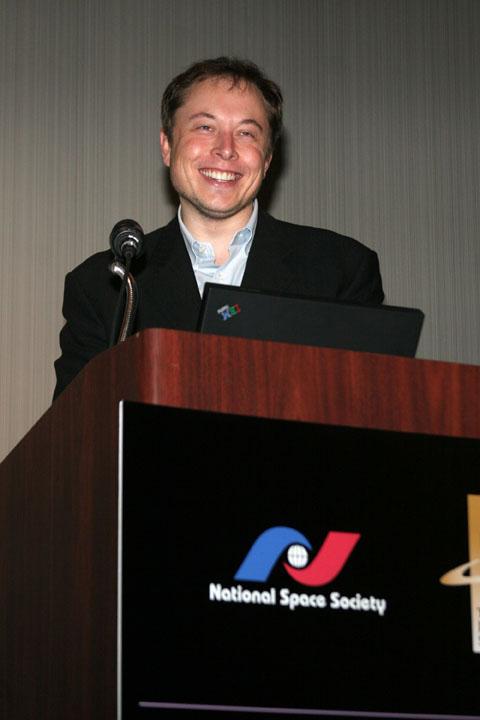 2006 ISDC Elon Musk of SpaceX