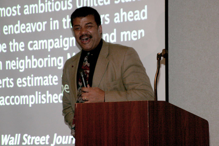 Neil deGrasse Tyson presentation at 2006 International Space Development Conference
