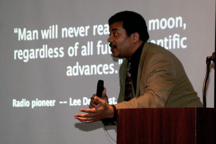 Neil deGrasse Tyson program at 2006 International Space Development Conference