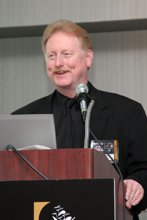 NSS Greg Allison at the Podium at 2006 International Space Development Conference