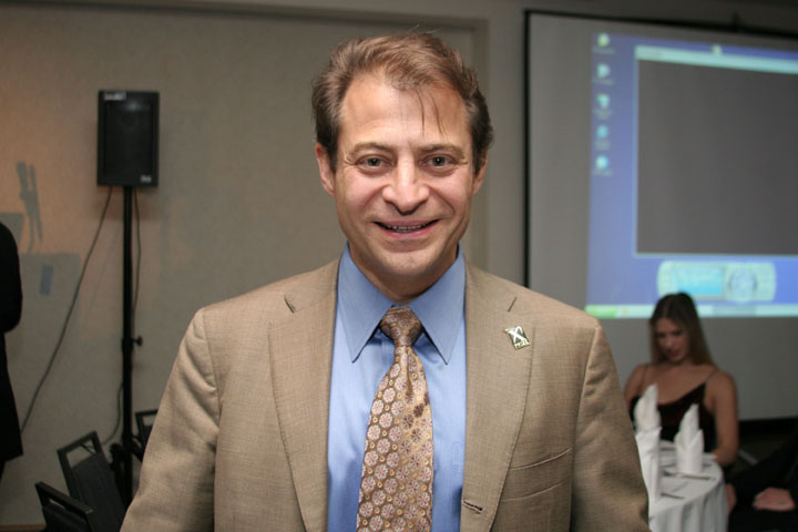 Peter Diamandis, founder and chairman of the X Prize Foundation at 2006 International Space Development Conference