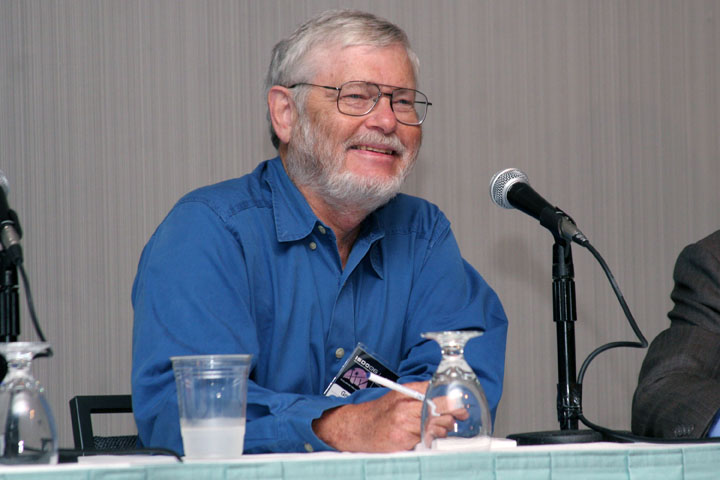 Science Fiction Author Gregory Benford at 2006 International Space Development Conference