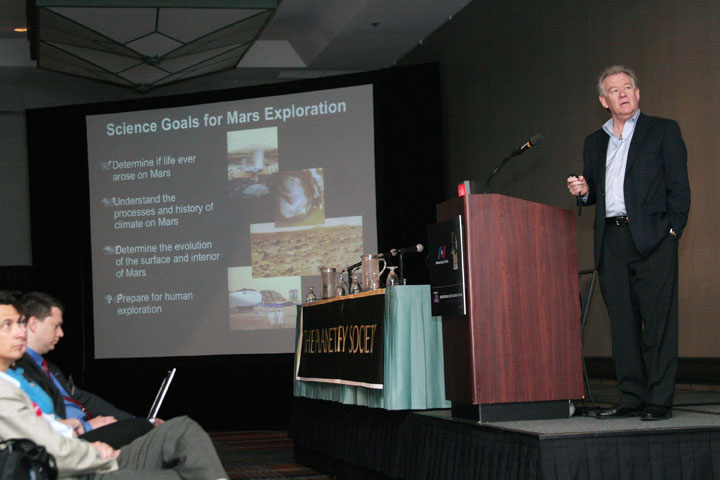 Science Goals for Mars Exploration Presentation at 2006 International Space Development Conference
