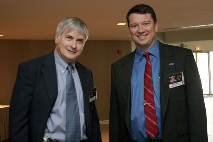 Seth Shostak of SETI, and Bruce Betts of the Planetary Society at 2006 International Space Development Conference