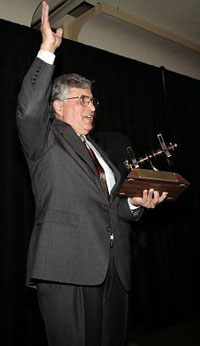 Apollo astronaut Harrison Schmitt at 2007 International Space Development Conference