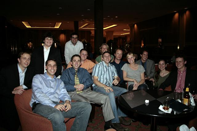 The Gen Y crowd celebrating at the International Space Development Conference
