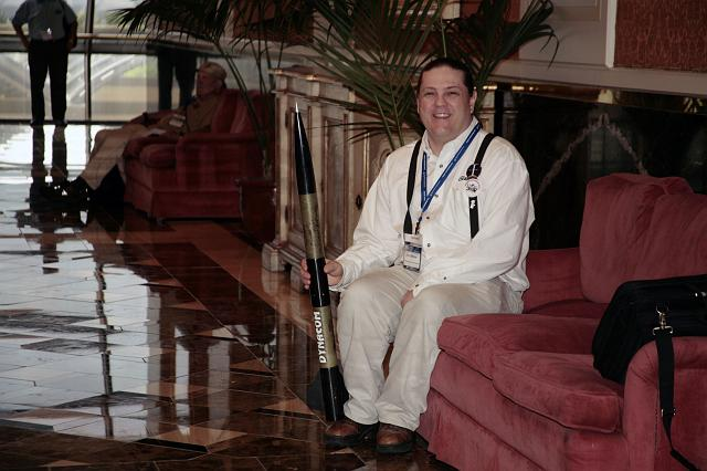 John Bittner: a man and his rocket at the International Space Development Conference