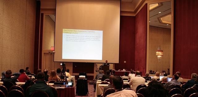 Mars exploration presentation at the International Space Development Conference