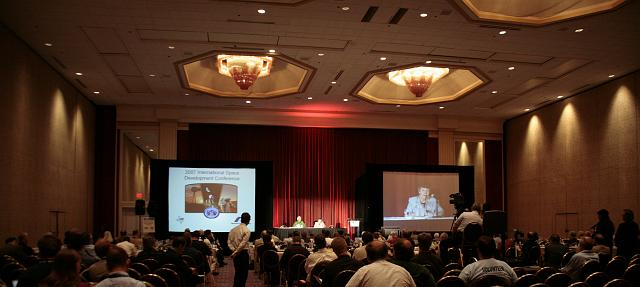 Donna Shirley of Mars Pathfinder fame speaks about Mars exploration at the International Space Development Conference
