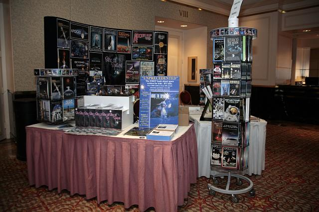 The Red Planet Adventures booth at the International Space Development Conference
