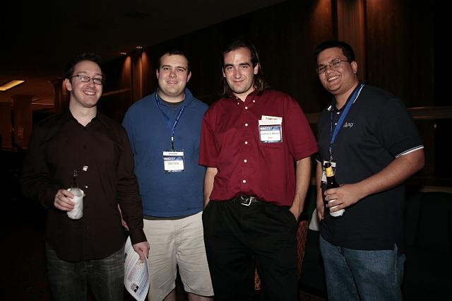 Revelers at the International Space Development Conference