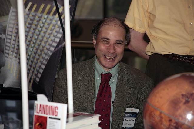 Dr. Robert Zubrin, Founder of the Mars Society at the International Space Development Conference