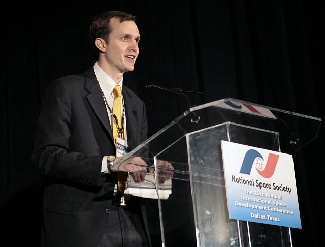 National Space Society Executive Director George Whitesides