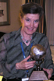 Anita Gale at the 2008 International Space Development Conference