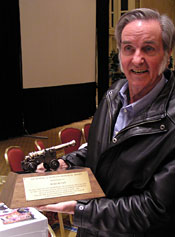 Burt Rutan at the 2008 International Space Development Conference
