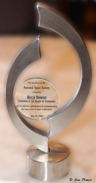Hugh Downs Award at the 2008 International Space Development Conference