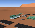 2008 space art contest Mars One Settlement
