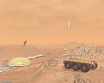 2008 space art contest Mars Scene