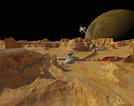 2008 space art contest Phobos Base