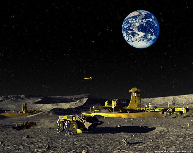 2008 Space Settlement Art Contest Moonbase Preparations