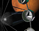 2009 Space Settlement Art Contest A Postcard from Mars: Arrival Phil Batchelor