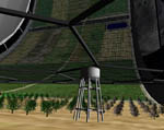2009 Space Settlement Art Contest A Postcard from Mars: At the Farm Phil Batchelor