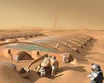 2009 Space Settlement Art Contest After the Storm Raymond Cassel
