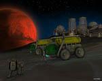 2009 Space Settlement Art Contest Closest Approach Jonathan Chapin